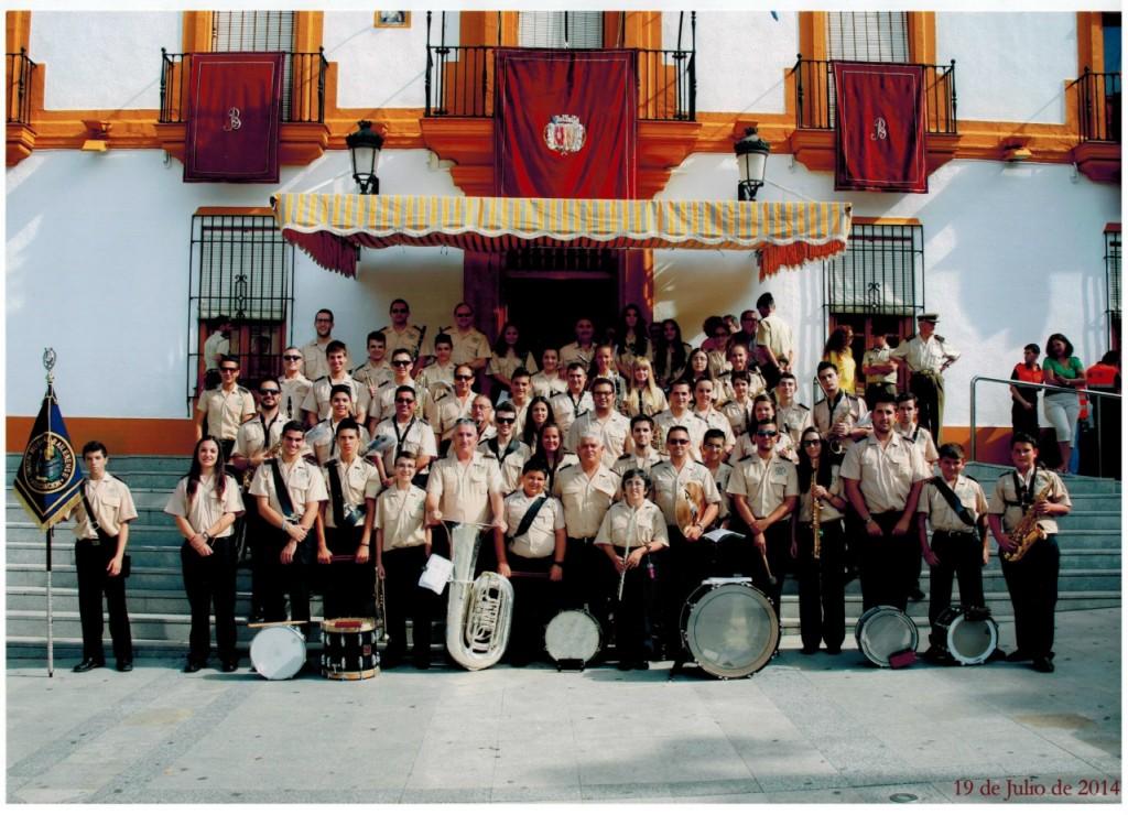 Foto Oficial de la Banda en el Año 2014
