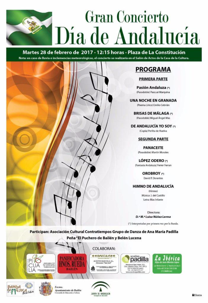Concierto Día de Andalucía 2017